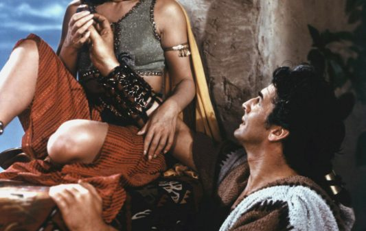 SAMSON AND DELILAH 1949 DIRECTED BY CECIL B. DeMILLE Hedy Lamarr and Victor Mature