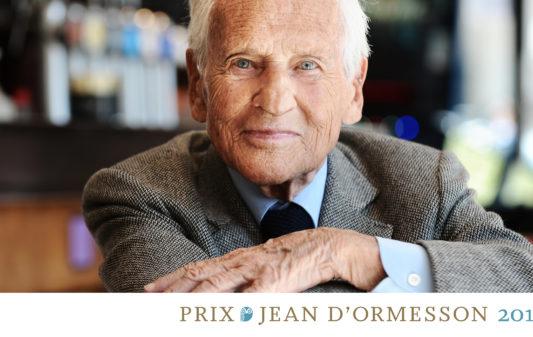 Prix Jean d'Ormesson 2019