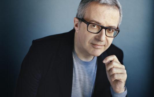 Charles Dantzig, Žcrivain, photographiŽ ˆ Paris le 4 octobre 2018 par Mathieu Zazzo
