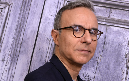 PARIS, FRANCE - 01/09/2019: Writer Philippe Besson poses during a portrait session in Paris, France on 01/09/2019. (Photo by Eric Fougere/Corbis via Getty Images)